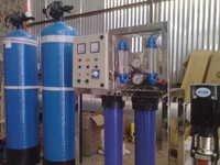 200 LPH FRP RO Plant