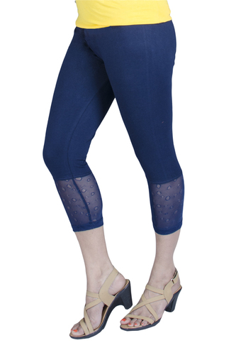 Capri Net Leggings