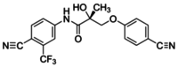 (R)-3-(4-Cyanophenoxy)-N-[4-cyano-3-(trifluoromethyl)phenyl]-2-hydroxy-2-methylpropionamide