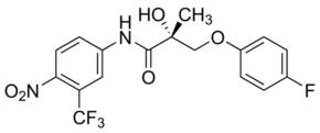 (R)-3-(4-Fluorophenoxy)-2-hydroxy-2-methyl-N-(4-nitro-3-trifluoromethylphenyl)propionamide