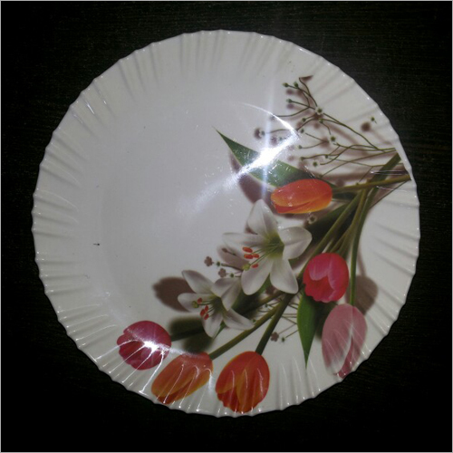 Fortune round plate
