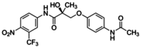(S)-3-(4-Acetylaminophenoxy)-2-hydroxy-2-methyl-N-(4-nitro-3-trifluoromethylphenyl)propionamide