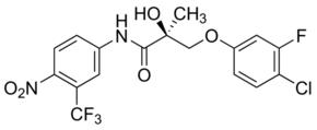 (S)-3-(4-Chloro-3-fluorophenoxy)-2-hydroxy-2-methyl-N-(4-nitro-3-trifluoromethylphenyl)propionamide