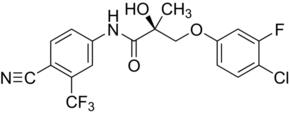 (S)-3-(4-Chloro-3-fluorophenoxy)-N-(4-cyano-3-trifluoromethylphenyl)-2-hydroxy-2-methylpropionamide