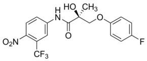 (S)-3-(4-Fluorophenoxy)-2-hydroxy-2-methyl-N-(4-nitro-3-trifluoromethylphenyl)propionamide