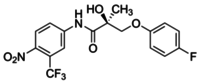 (S)-3-(4-Fluorophenoxy)-2-hydroxy-2-methyl-N-(4-nitro-3-trifluoromethylphenyl)propionamide