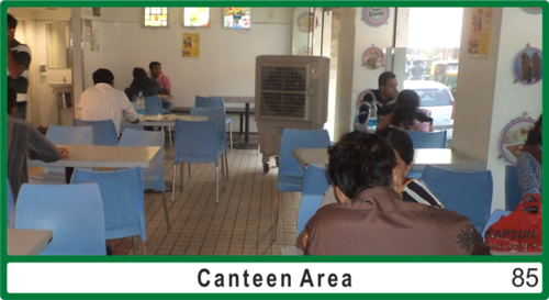 Canteen Air Cooler Conditioning