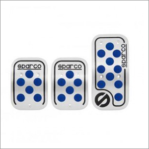 Aluminum Blue Pedal Set