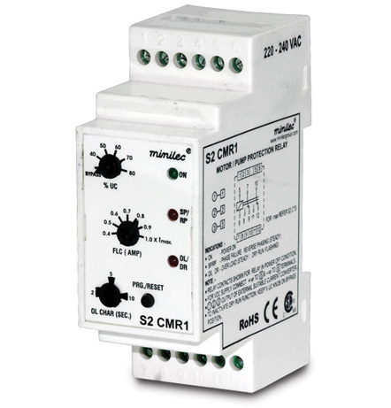 Minilec Motor and Pump Protection Relays S2 CMR1