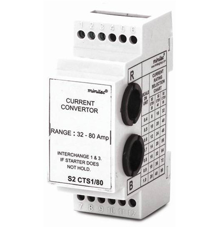 Minilec Motor and Pump Protection Relays S2 CTS1