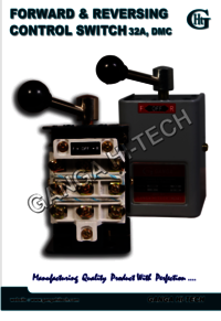 Forward and Reversing Control Switch