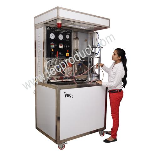 Oil Filter Flat Sheet Media Test Rig Iso 4548