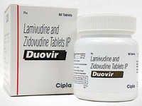 Lamivudine 150mg+Zidovudine 300 mg