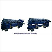 Battery Operatd Hydraulic Casting Conveyor Cart