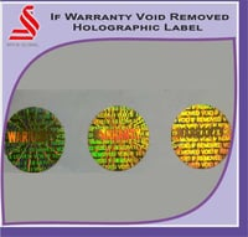If Warranty Void Removed Hologram Label