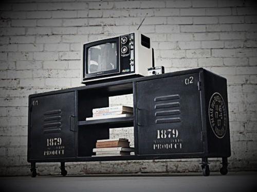 Large Retro TV Cabinet