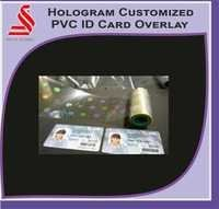 Holographic PVC ID Card Printer Hologram Label Stickers