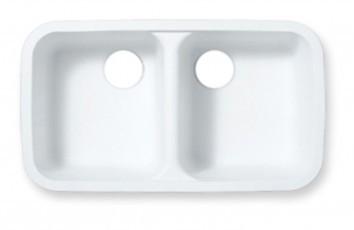 Acrylic Double Sinks