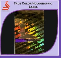 Holographic True Color Hologram Label Sticker