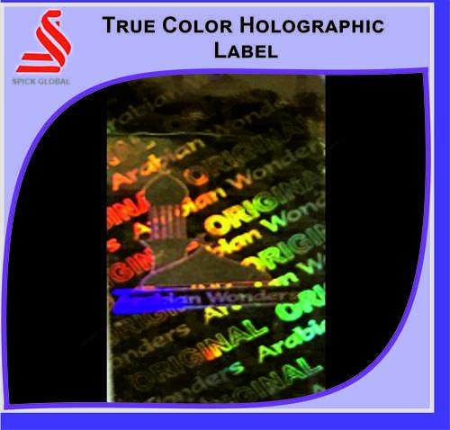 Holographic True Color Hologram Label Sticker