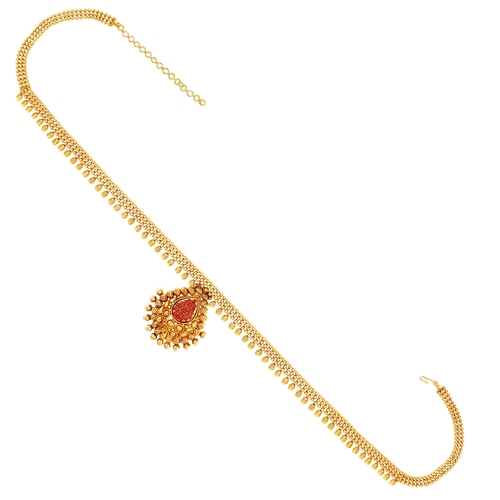 Traditional Bridal Indian Wedding Kamar Bandh Sari Waist Chain Belt Jewelry