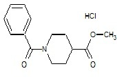Methyl 1-benzoyl-piperidine¬4-carboxylate Hydrochloride