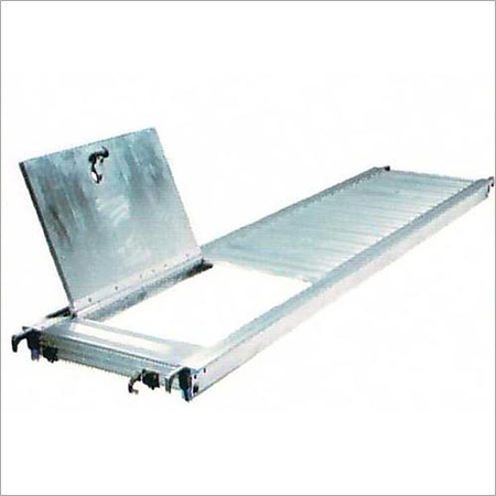 Aluminum Platform with Trap Door