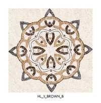Brown Designer Floor Tiles