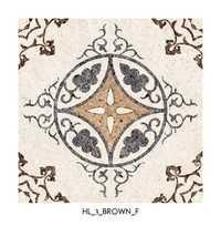 Brown Floor Tiles Living Room