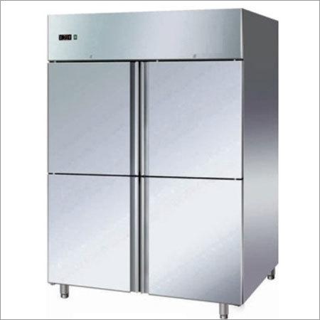 SS 4 Door Freezer