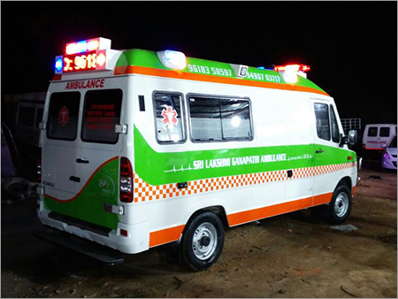 Critical Care Unit Ambulance