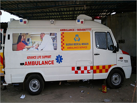 High Tech Ambulance