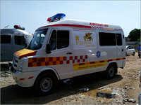 Advanced Life Support Hospital Ambulance