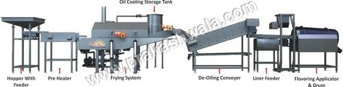 Semi Automatic Kurkure Production line