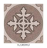 Chocolate Brown Ceramic Floor Tiles