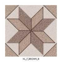 Chocolate Brown Digital Floor Tiles