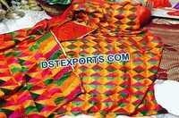 Embroidered Phulkari Bagh for Punjabi Decoration