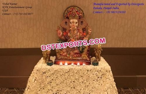 Indian Wedding Entrance Decor Ganesha Statue