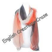 Modal Ombre Dyed Solid Color Stoles