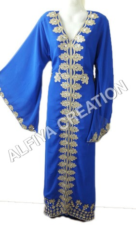 Long Maxi Kaftan Takchita Dress