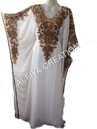 Stylish wedding wear farasha kaftan dress