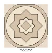Ivory Ceramic Floor Tiles