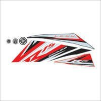 Bike Vinyl Sticker