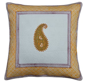 Printed Patch Work Cushion Cover