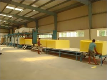 Three Conveyor Continuous Foaming Machine