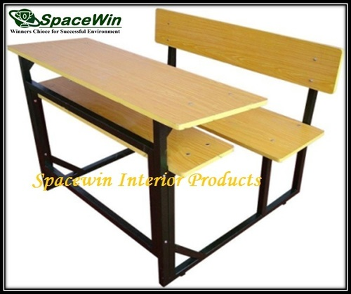 Desk with Bench