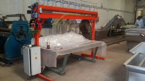 Plastic Bag Bin Packing heat Sealing Machine
