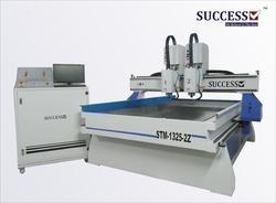 Stone Engraving Machine with 2 Spindle