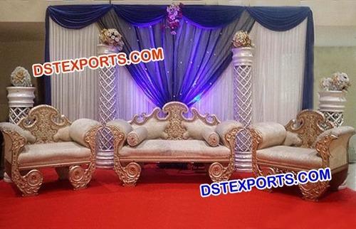 Royal Wedding Designer Stage Furniture