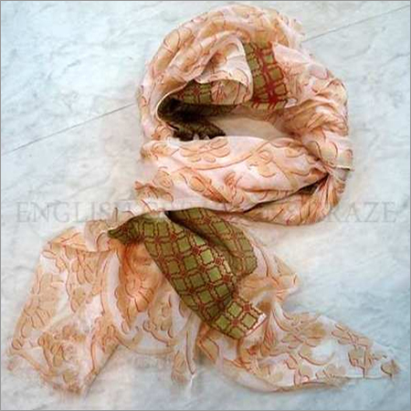 Cotton silk  Print  scarves